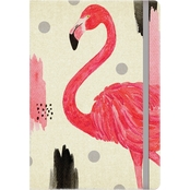 Orange Circle Studio Pink Flamingo Journal