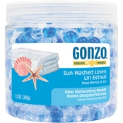 Gonzo Natural Magic Odor Eliminator, Beads Sun Washed Linen 12 Oz.
