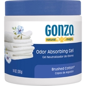 Gonzo Natural Magic Odor Absorbing Gel, Brushed Cotton 14 Oz.