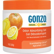 Gonzo Natural Magic Odor Absorbing Gel, Scintillating Citrus 14 Oz.