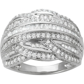 10K White Gold 1 CTW Fashion Diamond Ring
