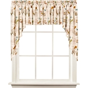 Saturday Knight Le Jardin 57 x 36 in. Swag Curtain Pair
