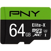 PNY Technologies MicroSD 64GB, CL 10 90MBs