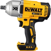 DeWalt 20V MAX* XR Brushless 1/2 in. Impact Wrench with Detent Pin Anvil (Bare)