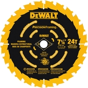 DeWalt 7-1/4 in. 24T Precision Framing Saw Blade