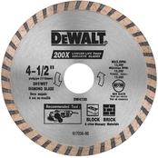 DeWalt 4-1/2 in. High Performance Diamond Masonry Blade