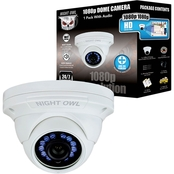 Night Owl 1080p HD Analog Wired Dome Security Camera