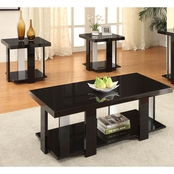 Furniture Of America Lakoti 1 Cocktail with End Tables 3 Pk.