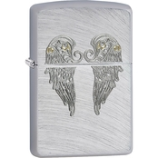 Zippo Arch Wing Two Tone Lighter