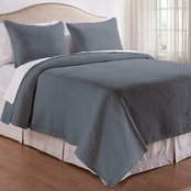 C&F Home Manchester Cement Quilt Set