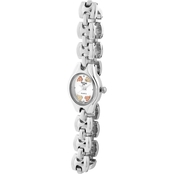 Black Hills Gold Women's Silvertone Bracelet Watch 9-WB86-GS
