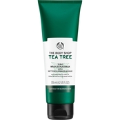 The Body Shop Tea Tree 3 in 1 Wash.Scrub.Mask 4.2 oz.