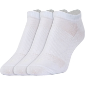 PowerSox Words of Inspiration Tactel No Show Liner Socks 3 Pk.