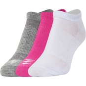 PowerSox Words of Inspiration Tab No Show Liner Socks 3 Pk.