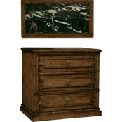 A.R.T. Collection One Marble Top Nightstand