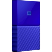 Western Digital 4TB My Passport Drive, Blue
