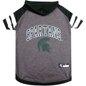 Pets First NCAA Michigan State Spartans Hoodie Tee