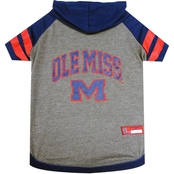 Pets First NCAA Mississippi Rebels Hoodie Tee