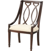 A.R.T. Furniture Wood Back Arm Chair 2 Pk.