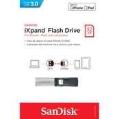 SanDisk iXpand 32 GB Flash Drive for iPhone and iPad