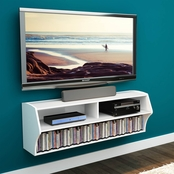 Prepac Altus Wall Mounted Audio/Video Console