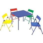 Cosco Kids 5 Pc. Folding Chair and Table Set