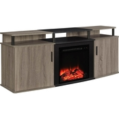 Altra Carson 70 in. Fireplace TV Console