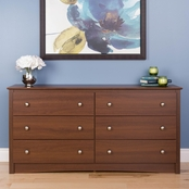 Prepac Sonoma 6 Drawer Chest