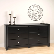 Prepac Kallisto 6 Drawer Chest
