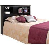 Prepac Kallisto Full/Queen Bookcase Headboard with Doors