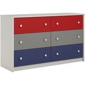 Cosco Kaleidoscope 6 Drawer Dresser
