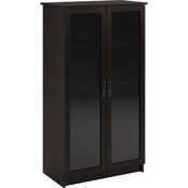 Altra Quinton Point Glass Door Bookcase