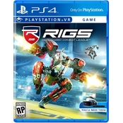 Rigs Mechanised Combat League VR (PS4)