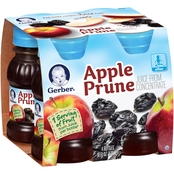 Gerber Apple Prune Juice 4 Pk. 4 Oz.