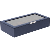WOLF Stackable 12 Pc. Watch Tray with Lid