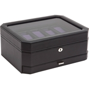 WOLF Windsor 10 Pc. Watch Box with Drawer