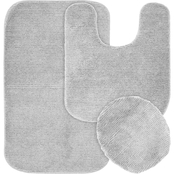 Garland Rug Glamor 3 Pc. Bath Rug