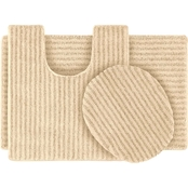 Garland Rug Sheridan 3 Pc. Bath Rug Set