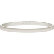 Kate Spade Find the Silver Lining Idiom Bangle Bracelet