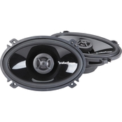 Rockford Fosgate 4 x 6 In. Punch P1462 Two Way Full Range Speakers