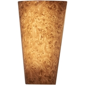 It's Exciting Lighting Vivid Burlwood Sconce