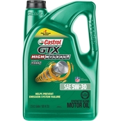 Castrol GTX High Mileage 5W-30 Part Synthetic Motor Oil