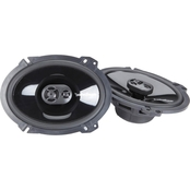 Rockford Fosgate 6 x 8 In. Punch P1683 Three Way Full Range Speakers