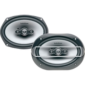 Rockford Fosgate 6 x 9 In. Punch P1694 Four Way Full Range Speakers