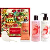 Crabtree & Evelyn Pomegranate, Argan and Grapeseed Deluxe Gift Set