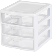 Sterilite Small 3 Drawer Unit