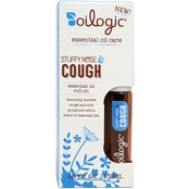 Oilogic 13 ml Stuffy Nose and Cough Essential Oil Roll On