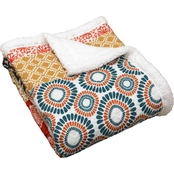 Lush Decor Bohemian Stripe Throw