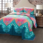 Lush Decor Boho Chic 3 pc. Quilt Set
