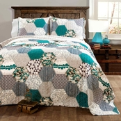 Lush Decor Briley 3 pc. Quilt Set
